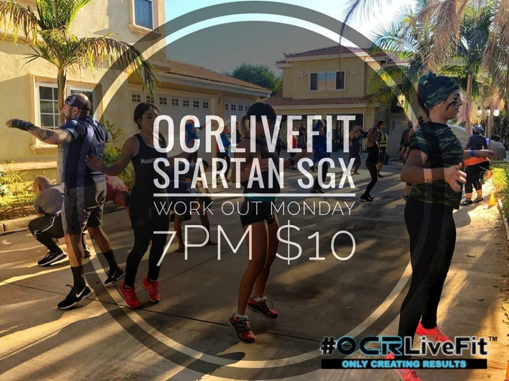 Spartan SGX Workout 7pm @ OCRLiveFit  | El Monte | California | United States